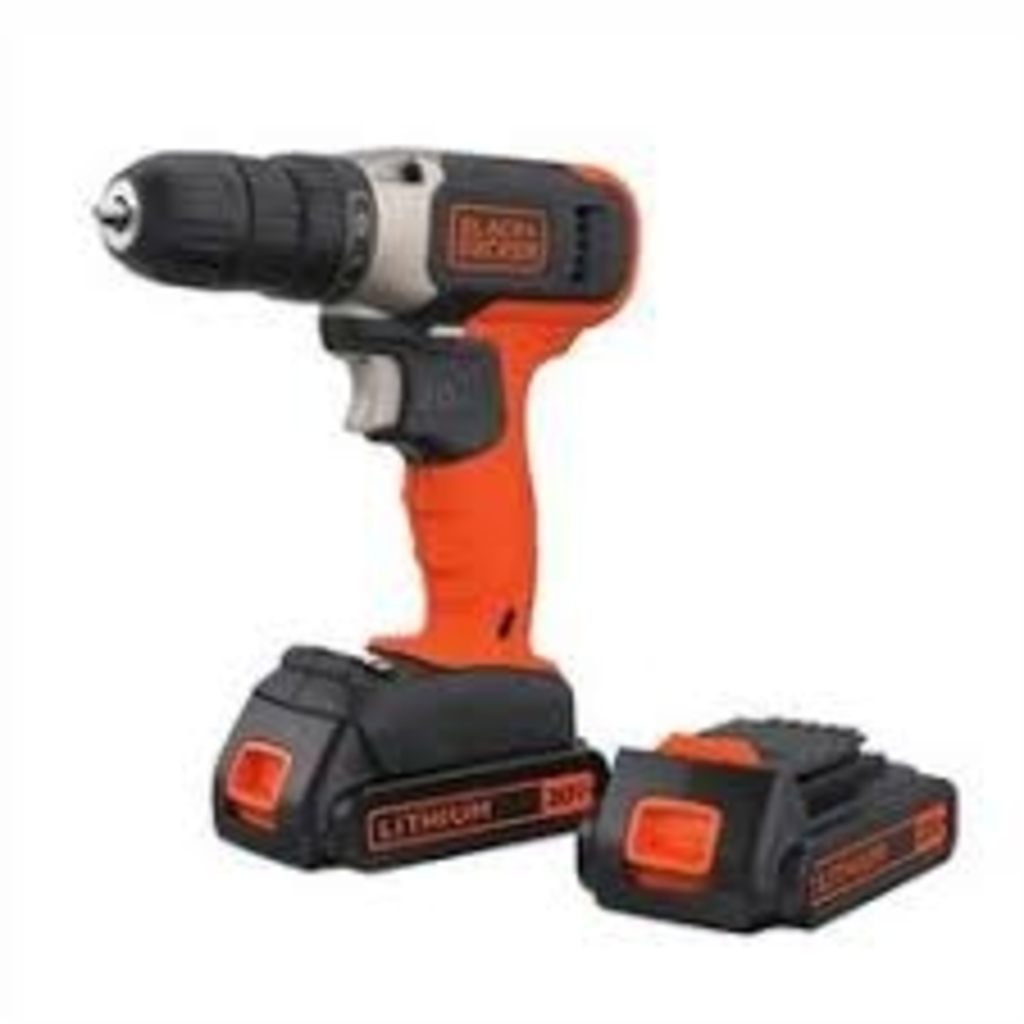 Cordless Rotary Multi Tool Set Black & Decker